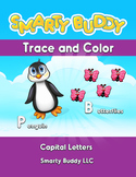 Trace and Color - Capital Letters