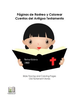 Trace and Color in Spanish - Old Testament Stories - Reina-Valera 1960