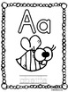 Trace and Colour Alphabet Pages FRENCH
