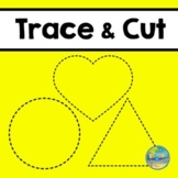 Trace and Cut Scissors Skills