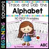 Trace and Dab the Alphabet NO PREP