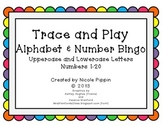 Alphabet and Number Bingo Bundle Trace and Play