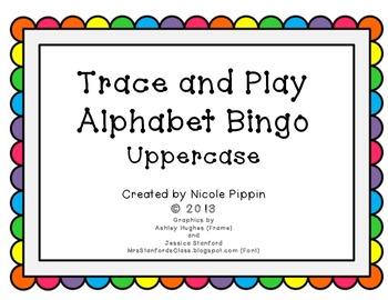 Alphabet Bingo Trace and Play - Uppercase