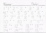 Trace and Print Numbers From 1 to 30