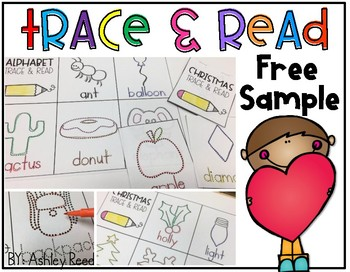 Trace and Read FREEBIE