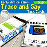 Trace and Say: Articulation K and G