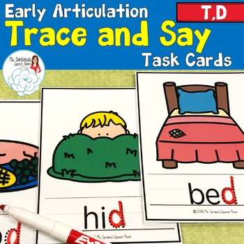 Trace and Say: Articulation T and D