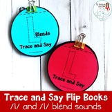 Trace and Say Flip Books: L and L Blend Sounds