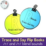 Trace and Say Flip Books: R and R Blend Sounds