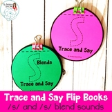 Trace and Say Flip Books: S and S Blend Sounds