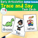 Trace and Say: Initial Consonant Sounds