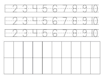 Trace and Write, 1-10