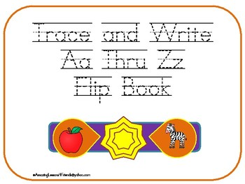 Trace and Write Aa Rhue Zz Flip Book