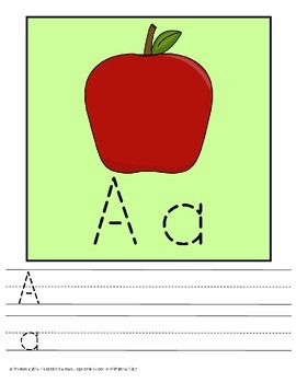 Trace and Write  Alphabet