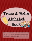Trace and Write Alphabet Book