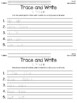 Trace and Write Dolch Words--PrePrimer