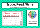 Trace and Write - Editable Morning Work - Year 1