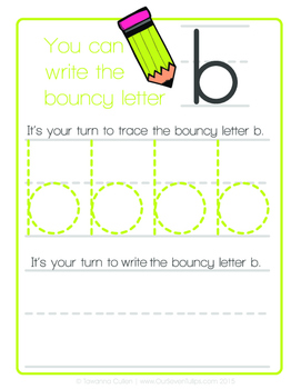 Trace and Write Lowercase Letters