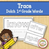 Trace and Write Sight Words - Dolch 1st Grade