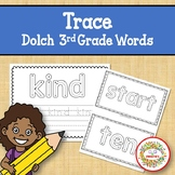 Trace and Write Sight Words - Dolch 3rd Grade