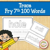 Trace and Write Sight Words - Fry 7th 100