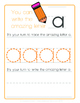 Trace and Write Lower and Uppercase Letters