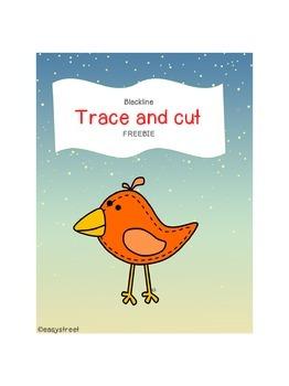 Trace and cut Freebie