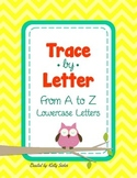 Trace by Letter (Lowercase) - Alphabet