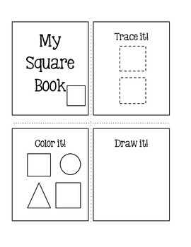 Trace it!   Color it!   Draw it! ~ Shapes