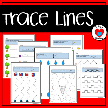 Trace lines | Writing skills
