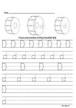 Trace the Alphabet A-Z