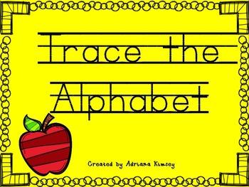 Trace the Alphabet - Beginning Sounds