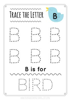 Trace the Letter- Uppercase