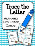 Trace the Letter. Uppercase Alphabet Letters. Dry Erase Center