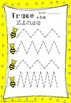 Trace the Lines Zigzag No Prep Worksheets