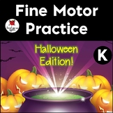 Trace-the-Path *Halloween* Fine Motor Skills practice