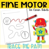 Trace the Path - Robots edition