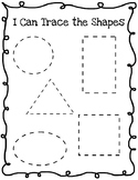 Trace the Shapes (FREE)