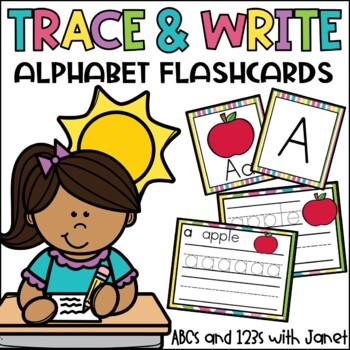 Trace the Words {ABC flashcards}