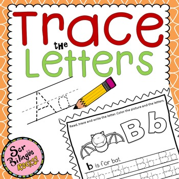 Trace the letter