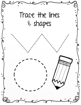 Tracing lines and shapes