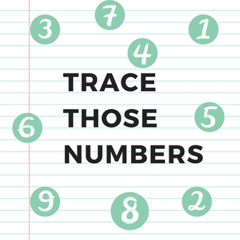 Trace those Numbers