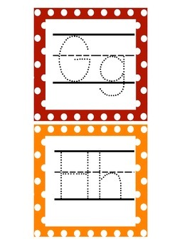 Traceable ABC Cards