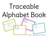 FREE Traceable Alphabet Book