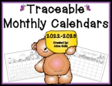 Traceable Monthly Calendars 2018-2019