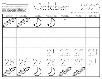 Traceable Calendars & Blank Calendars, 4-sets for 2018- 2019