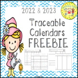 Calendar Traceable FREEBIE