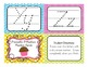 Traceable D'Nealian Handwriting Practice Cards