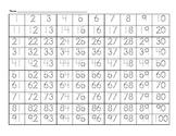 Traceable Hundreds Chart