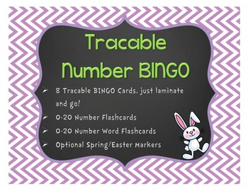 Traceable Number BINGO: 0-20